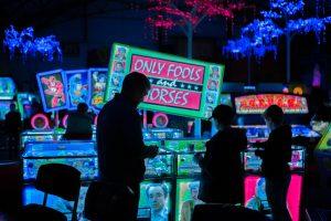 Landbaserat casino för spelautomater.
