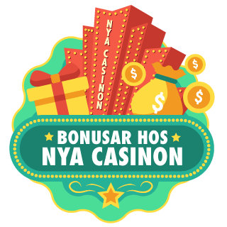 illustration för bonusar hos nya casinon
