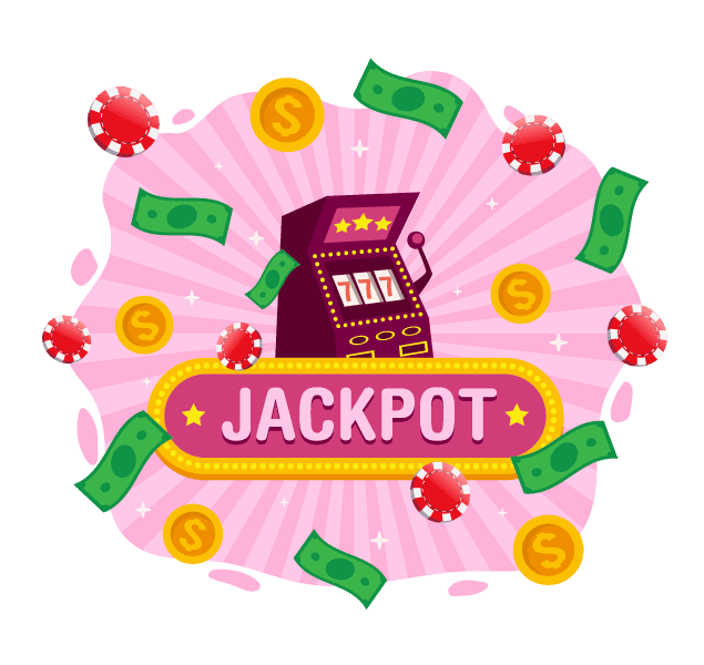 casino jackpot illustration