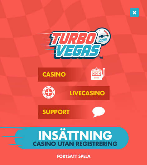 Meny Turbo Vegas